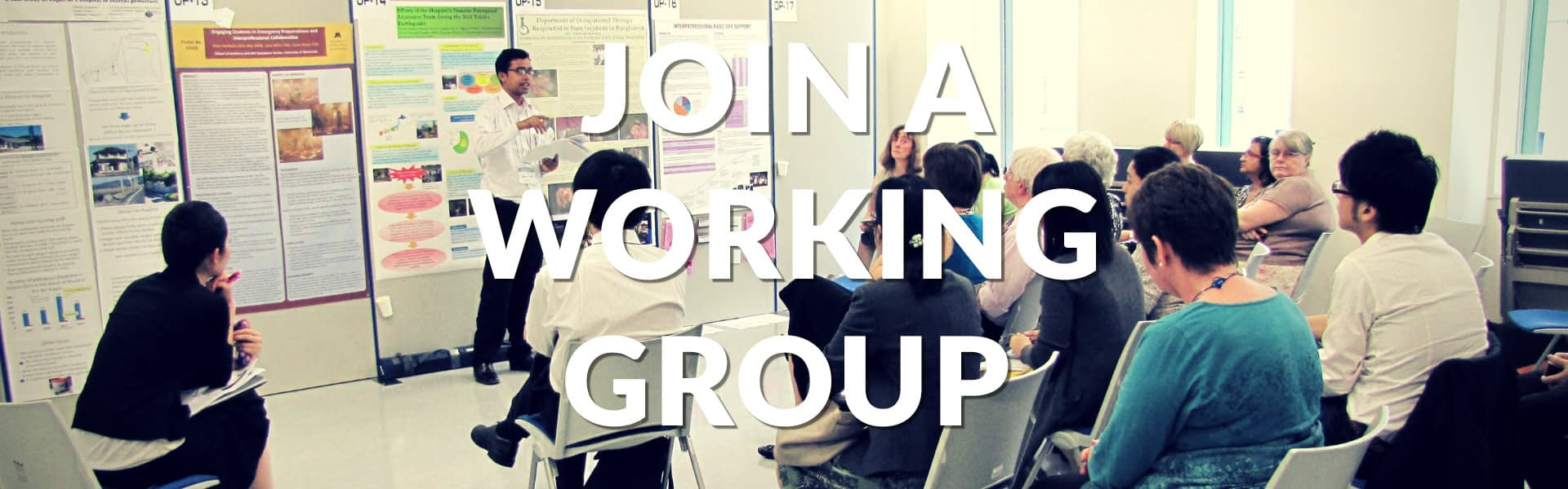 Join a Working Group